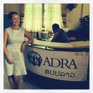 Yanti at the ADRA Office