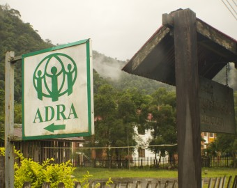 ADRA Sign in Mok Mai Laos